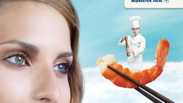 Korean_Air_shrimp_food_styling