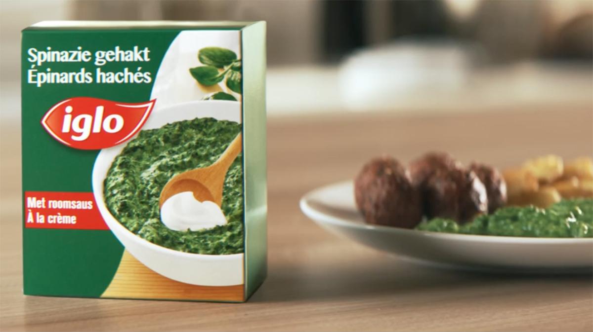 Iglo spinach
