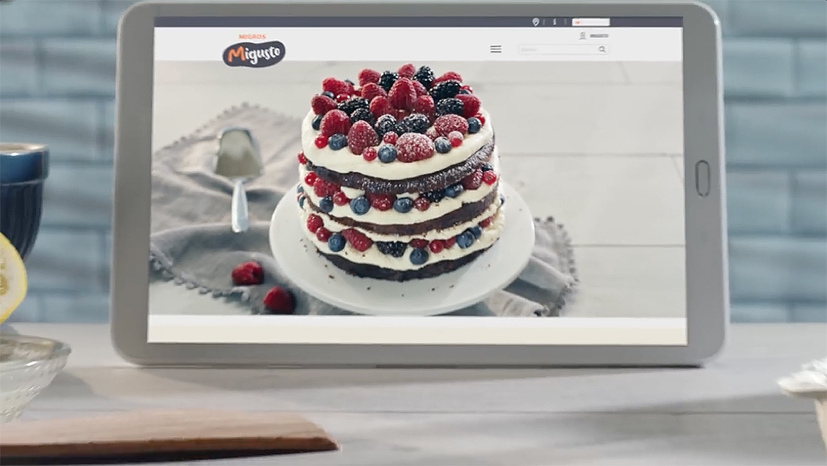 Migros Migusto – cake