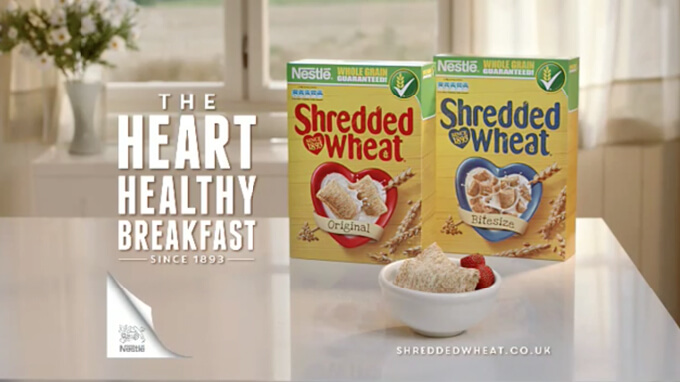 Nestle – Shredded Wheat