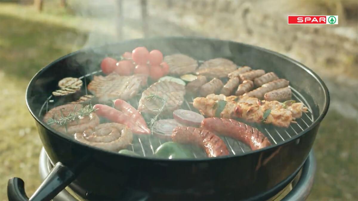 Spar grill