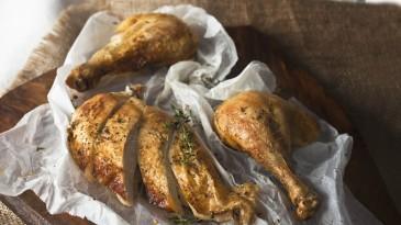 Spar-food-styling-pečen-piščanec-s-timijanom